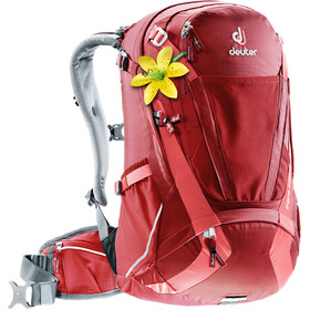 Deuter W's Trans Alpine 28 SL Backpack cranberry-coral